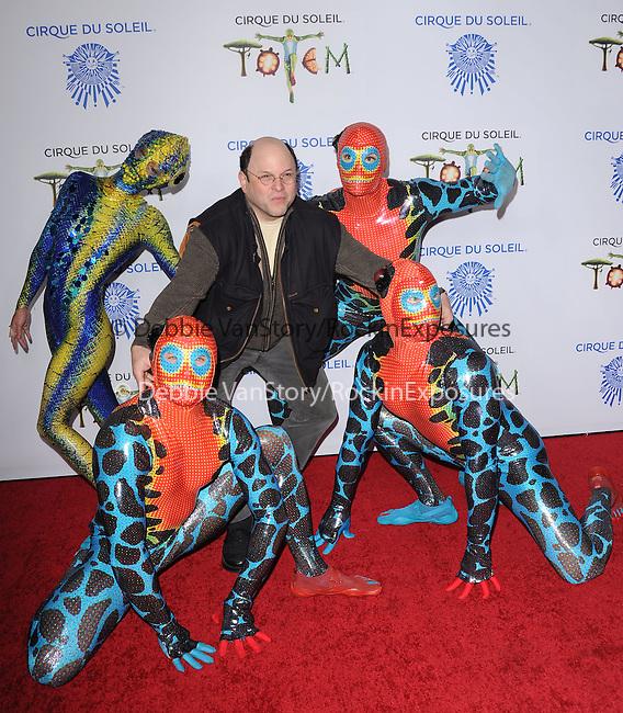 Jason Alexander attends Totem from Cirque du Soleil Premiere at Santa Monica Pier in Santa Monica, California on January 21,2014                                                                               © 2014 Hollywood Press Agency