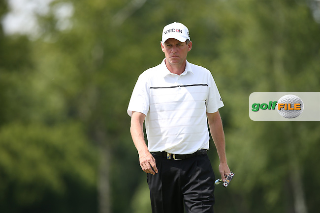 Anders Hansen (DEN) cards a flawless 69 during Round One of the 2015 BMW International Open at Golfclub Munchen Eichenried, Eichenried, Munich, Germany. 25/06/2015. Picture David Lloyd | www.golffile.ie
