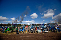 DM 2010 i traktortræk på 'Faxe Pulling Arena' i Fakse. Foto: Jens Panduro