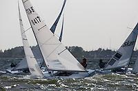 Medemblik - the Netherlands, May 24th 2011. Delta Lloyd Regatta in Medemblik (26/30 May 2011). Day 1.