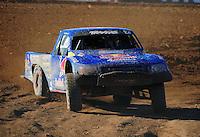 Apr 16, 2011; Surprise, AZ USA; LOORRS driver Bryce Menzies (7) during round 3 at Speedworld Off Road Park. Mandatory Credit: Mark J. Rebilas-