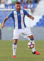 Leganes's  David Timor during the XXXVII trophy of Legane's City between CD Leganes and Villarreal CF at Butarque Stadium. August 13, 2016. (ALTERPHOTOS/Rodrigo Jimenez) /NORTEPHOTO