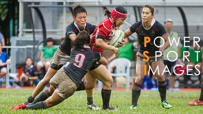 Hong Kong plays Japan during the HKRFU A4N 2014 on May 21, 2014 at the Aberdeen Sport Ground in Hong Kong, China. Photo by Chung Yan / Power Sport Images