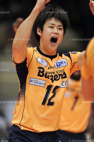 Kazuyoshi Yokota (Blazers), MARCH 5, 2011 - Volleyball : 2010/11 Men's V.Premier League match between F.C.Tokyo 0-3 Sakai Blazers at Tokyo Metropolitan Gymnasium in Tokyo, Japan. (Photo by AZUL/AFLO).