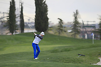 Ricardo Gouveia (POR) on the 2nd fairway during Round 1 of the Open de Espana 2018 at Centro Nacional de Golf on Thursday 12th April 2018.<br /> Picture:  Thos Caffrey / www.golffile.ie<br /> <br /> All photo usage must carry mandatory copyright credit (&copy; Golffile | Thos Caffrey)