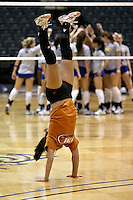 SAN ANTONIO, TX - OCTOBER 11, 2008: The University of Texas of the Permian Basin Falcons vs. the St. Mary's University Rattlers Women's Volleyball at the Bill Greehey Arena. (Photo by Jeff Huehn)