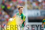 Donnchadh Walsh Kerry in action against  Cork in the Munster Senior Football Final at Fitzgerald Stadium on Sunday.