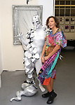 Performance artist and Anita Durst attends the ChaShaMa 'Open Studios' Opening Night Reception on October 12, 2018 at the Brooklyn Army Terminal in Brooklyn, New York.