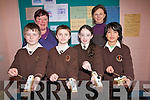 The development of  the arts at Lissivigeen National School is an ongoing process that this week saw renowned composer Elaine Agnew work with the children. .Back L-R Teacher Miriam O'Sullivan Long and Composer Elaine Agnew. .Front L-R Stephen Mckenna, Andrew Quinlivan, Emma Quirke  and Federico Licup