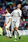 Cristiano Ronaldo of Real Madrid reacts during the La Liga match between Real Madrid and Real Sporting de Gijon at the Santiago Bernabeu Stadium on 26 November 2016 in Madrid, Spain. Photo by Diego Gonzalez Souto / Power Sport Images