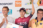 Iván Ramiro Sosa (COL) Team Ineos wins Stage 3 of the Route d'Occitanie 2019, running 173km from Arreau to Luchon-Hospice de France, France. 22nd June 2019<br /> Picture: Colin Flockton | Cyclefile<br /> All photos usage must carry mandatory copyright credit (© Cyclefile | Colin Flockton)