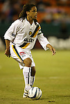 16 October 2004: Cobi Jones. The Kansas City Wizards defeated the Los Angeles Galaxy 1-0 at Arrowhead Stadium in Kansas City, MO in a regular season Major League Soccer game..