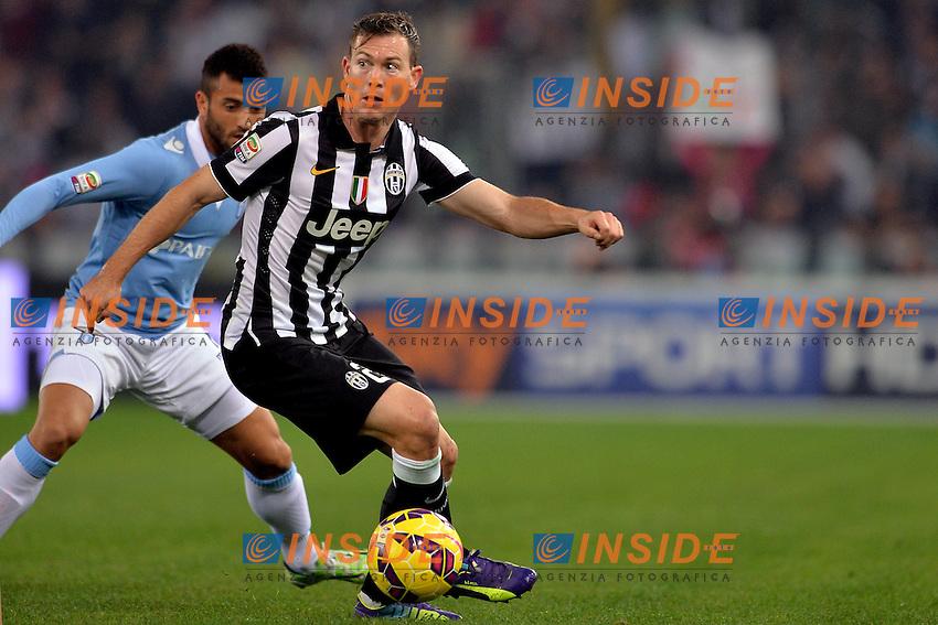 Stephan Lichtsteiner Juventus.<br /> Roma 22-11-2014 Stadio Olimpico. Football Calcio 2014/2015 Serie A. Lazio - Juventus. Foto Antonietta Baldassarre / Insidefoto