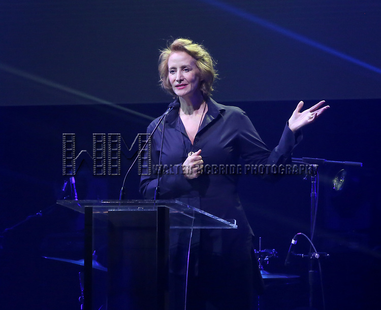 Janet McTeer during the Roundabout Theatre Company's 2019 Gala honoring John Lithgow at the Ziegfeld Ballroom on February 25, 2019 in New York City.