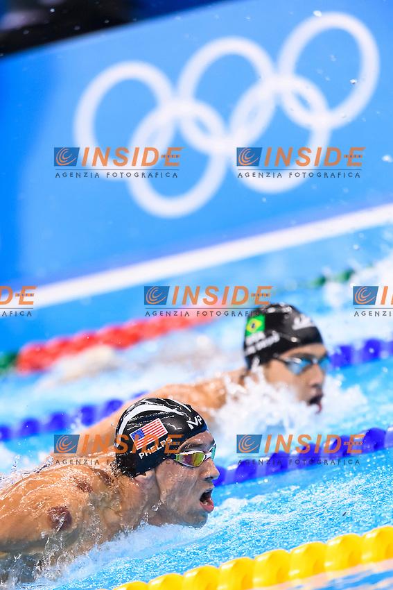 PHELPS Michael USA Men's 200m Butterfly <br /> Rio de Janeiro 08-08-2016 Olympic Aquatics Stadium <br /> Swimming Nuoto <br /> Foto Andrea Staccioli/Deepbluemedia/Insidefoto