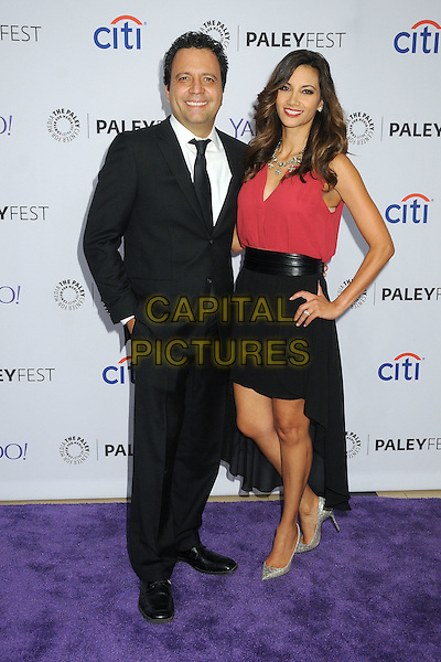 10 September 2015 - Beverly Hills, California - Omar Velasco, Argelia Atilano. 2015 PaleyFest Fall TV Preview - &quot;La Banda&quot; held at The Paley Center.   <br /> CAP/ADM/BP<br /> &copy;BP/ADM/Capital Pictures