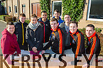 Tralee IT students head off to the Arctic  on a cross country skiing expedition in Finland pictured front L-R Robert Powell, Sean Pigott, Damien Fitzpatrick, back L-R David Coleman, Mark Egan, Leanne Whitley, Peter Maynard, Dillon O Leary,and John Barry