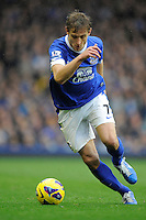 28.10.2012 Liverpool, England.  Nikica Jelavic     in action during the Premier League game between Everton and Liverpool  from Goodison Park ,Liverpool