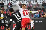 14.01.2018, RheinEnergieStadion, Koeln, GER, 1.FBL., 1. FC K&ouml;ln vs. Borussia M&ouml;nchengladbach<br /> <br /> im Bild / picture shows: <br /> Jonas Hector (FC K&ouml;ln #14),  nach langer Verletzung wieder im Spiel <br /> <br /> <br /> Foto &copy; nordphoto / Meuter