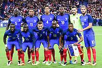 Formazione FRANCIA <br /> France vs Russia - Friendly game - 29/03/2016<br /> Foto Insidefoto