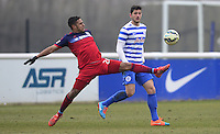 Quincy Amarikwa of Chicago Fire and Jamie Sendles-White of QPR