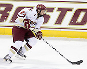 Paul Carey (BC - 22) - The Boston College Eagles defeated the University of Massachusetts-Amherst Minutemen 5-2 on Saturday, March 13, 2010, at Conte Forum in Chestnut Hill, Massachusetts, to sweep their Hockey East Quarterfinals matchup.