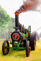 Traction engine at full steam Castle Fraser Steam Fair.  dsider.co.uk online magazine, photo courses