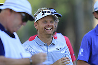 Soren Kjeldsen (DEN) on the 10th tee during Saturday's Round 3 of the 2018 Turkish Airlines Open hosted by Regnum Carya Golf &amp; Spa Resort, Antalya, Turkey. 3rd November 2018.<br /> Picture: Eoin Clarke | Golffile<br /> <br /> <br /> All photos usage must carry mandatory copyright credit (&copy; Golffile | Eoin Clarke)