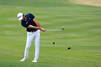 Clement Sordet (FRA) in action during the final round of the Volvo China Open played at Topwin Golf and Country Club, Huairou, Beijing, China 26-29 April 2018.<br /> 29/04/2018.<br /> Picture: Golffile | Phil Inglis<br /> <br /> <br /> All photo usage must carry mandatory copyright credit (&copy; Golffile | Phil Inglis)