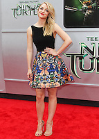 WESTWOOD, LOS ANGELES, CA, USA - AUGUST 03: Abby Elliott at the Los Angeles Premiere Of Paramount Pictures' 'Teenage Mutant Ninja Turtles' held at Regency Village Theatre on August 3, 2014 in Westwood, Los Angeles, California, United States. (Photo by Celebrity Monitor)