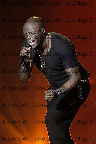 SEAL -  performing live at Le Zenith concert hall in Paris France - Dec 02, 2012 .  Photo credit: Stephane Allaman/Dalle/IconicPix