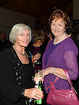 Margaret Cronin and Breda McEvoy at the Captain's dinner at Seapoint Golf Club. Photo:Colin Bell/pressphotos.ie