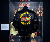ACDC exhibition at Kelvingrove Art Gallery and Museum - Glasgow - Highway to Hell tour jacket - picture by Donald MacLeod - 16.9.11 - clanmacleod@btinternet.com 07702 319 738 donald-macleod.com