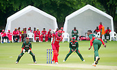 ICC World T20 Qualifier - GROUP B MATCH - CANADA V KENYA at Watsonians CC, Edinburgh - Canada's Ravindu Gunasekera hits out on his way making 51 — credit @ICC/Donald MacLeod - 10.07.15 - 07702 319 738 -clanmacleod@btinternet.com - www.donald-macleod.com