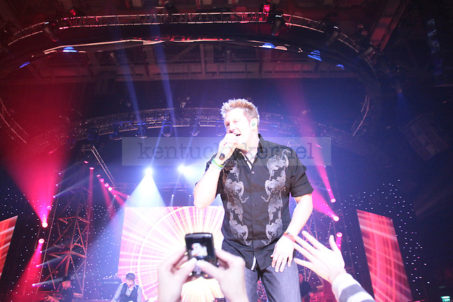 """Rascal Flatts performs at Rupp Arena Thursday night as a part of their """"Nothing LIke This"""" tour. Rascal Flatts was introduced by opening acts Chris Young and Luke Bryan. Photo by Scott Hannigan"""