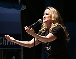 Mamie Parris on stage at United Airlines Presents #StarsInTheAlley free outdoor concert in Shubert Alley on 6/2/2017 in New York City.