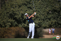 Gary Boyd (ENG) plays up the 3rd during the Final Round of the 2016 Omega Dubai Desert Classic, played on the Emirates Golf Club, Dubai, United Arab Emirates.  07/02/2016. Picture: Golffile | David Lloyd<br /> <br /> All photos usage must carry mandatory copyright credit (&copy; Golffile | David Lloyd)