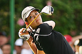 January 14, 2005; Honolulu, HI, USA;  15 year old amateur Michelle Wie tees off from the 9th hole during the 2nd round of the PGA Sony Open golf tournament held at Waialae Country Club.  Wie shot a 4 over par 74 for the day and missed the cut by 7 strokes with a 9 over par 149.<br />