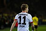 10.02.2018, Signal Iduna Park, Dortmund, GER, 1.FBL, Borussia Dortmund vs Hamburger SV, <br /> <br /> im Bild | picture shows:<br /> Andr&eacute; Hahn (HSV #11) beschwert sich, <br /> <br /> <br /> Foto &copy; nordphoto / Rauch
