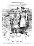 """The Unwise Pig. Erin. """"Shure, it's a deal of trouble you were after making for everyone when you spelt that name."""""""