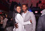 MIAMI BEACH, FL - MAY 04: Actress Denyce Lawton and actor Darrin Henson celebrated they birthday at Club Play South Beach on May 4, 2013 in Miami Beach, Florida. (Photo by Johnny Louis/jlnphotography.com)