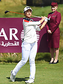 30th September 2017, Windross Farm, Auckland, New Zealand; LPGA McKayson NZ Womens Open, third round;  New Zealand's Lydia Ko tees off on the 10th