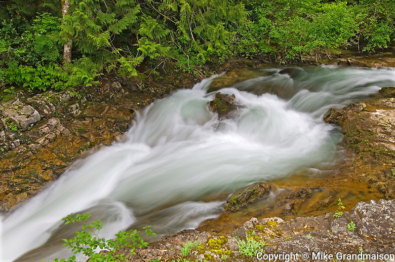 Waterfall on the Little Qualicum River<br /> Little Qualicum River Provincial Park<br /> British Columbia<br /> Canada