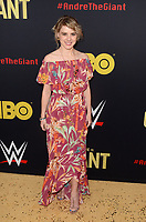 """LOS ANGELES - FEB 29:  Laura Slade Wiggins at the """"Andre The Giant"""" HBO Premiere at the Cinerama Dome on February 29, 2018 in Los Angeles, CA"""