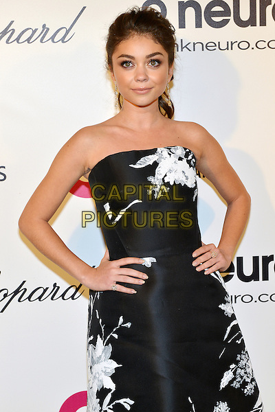 02 March 2014 - West Hollywood, California - Sarah Hyland. 22nd Annual Elton John Academy Awards Viewing Party held at West Hollywood Park. <br /> CAP/ADM/CC<br /> &copy;CC/AdMedia/Capital Pictures
