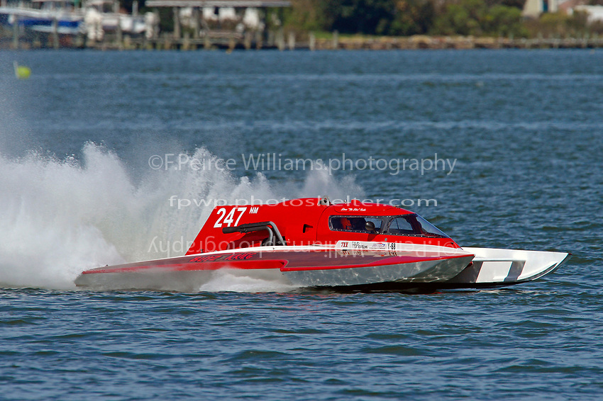 "Pat Haworth, NM-247 ""Blitzkrieg""         (National Mod hydroplane(s)"