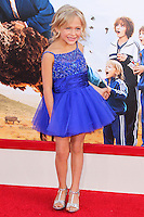 HOLLYWOOD, LOS ANGELES, CA, USA - MAY 21: Alyvia Alyn Lind at the Los Angeles Premiere Of Warner Bros. Pictures' 'Blended' held at the TCL Chinese Theatre on May 21, 2014 in Hollywood, Los Angeles, California, United States. (Photo by Xavier Collin/Celebrity Monitor)