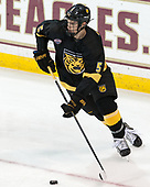 Cole McCaskill (CC - 5) - The Boston College Eagles defeated the visiting Colorado College Tigers 4-1 on Friday, October 21, 2016, at Kelley Rink in Conte Forum in Chestnut Hill, Massachusetts.The Boston College Eagles defeated the visiting Colorado College Tiger 4-1 on Friday, October 21, 2016, at Kelley Rink in Conte Forum in Chestnut Hill, Massachusett.
