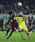 Fussball Bundesliga 2010/11, 22. Spieltag: 1. FC Kaiserslautern - Borussia Dortmund