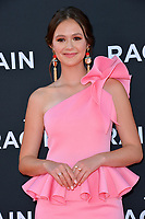 "LOS ANGELES, USA. August 02, 2019: Olivia Sanabia at the premiere of ""The Art of Racing in the Rain"" at the El Capitan Theatre.<br /> Picture: Paul Smith/Featureflash"